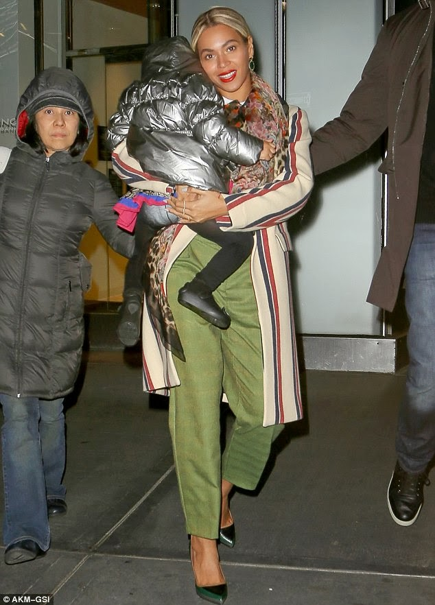 Nori West And Blue Ivy